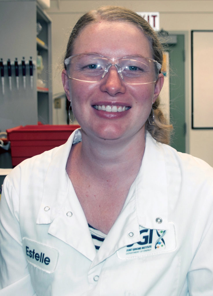 Estelle Schaefer is a postdoc in John Vogel's Plant Functional Genomics group
