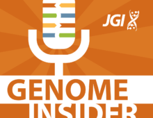 Logo of Genome Insider, podcast of the Joint Genome Institute
